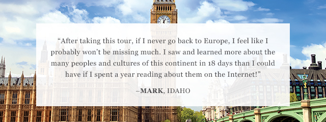 Review of Go Ahead's Grand Tour of Europe