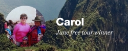 A chat with our June free tour winner