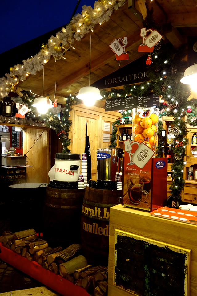 Mulled gluhwein at the European Christmas markets