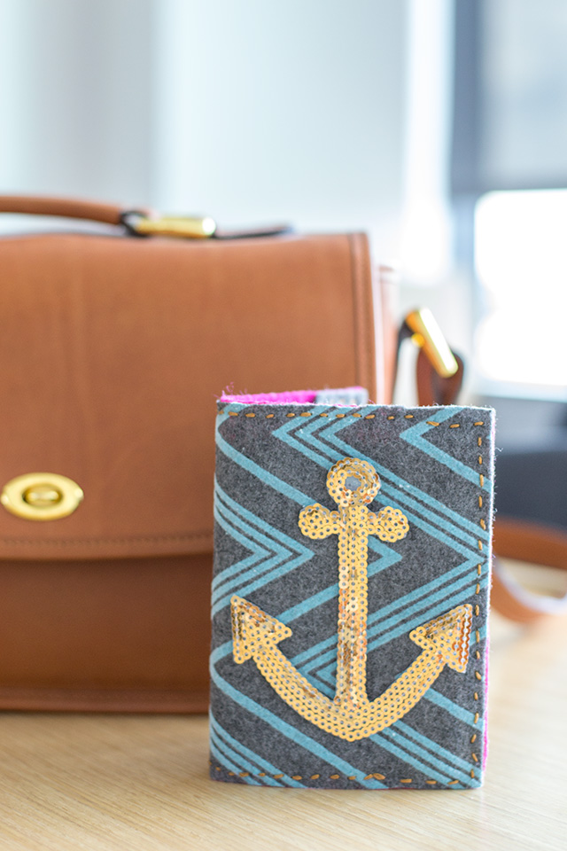 DIY passport cover