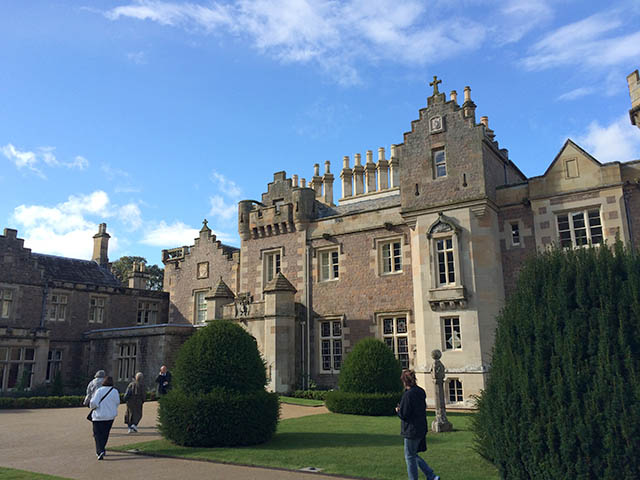 Abbotsford House in Scotland