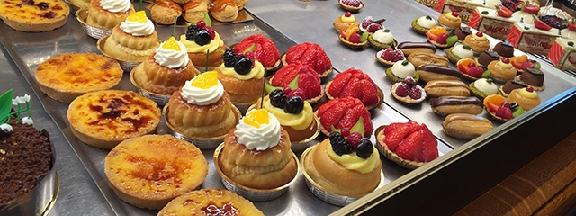 Beautiful French pastries