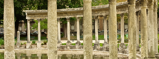 Parc Monceau in Paris, Francwe