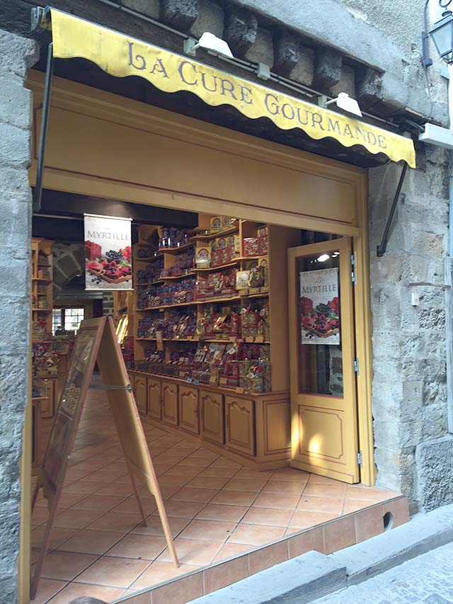 Chocolates from La Cure Gourmande in Carcassone, France