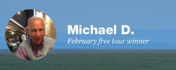 Celebrate travel: Our February free tour winner