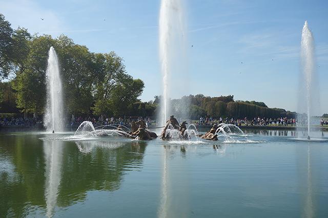 Fountain of Apollo in Versailles France