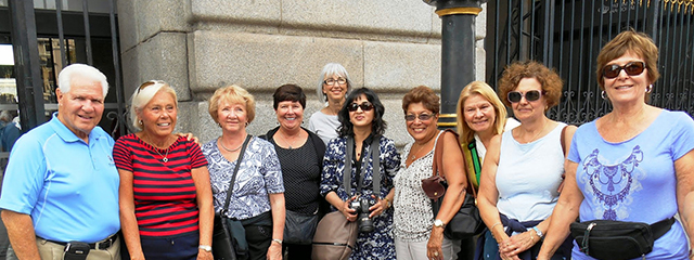 Nancy and her group on Spain, Portgual and Morocco
