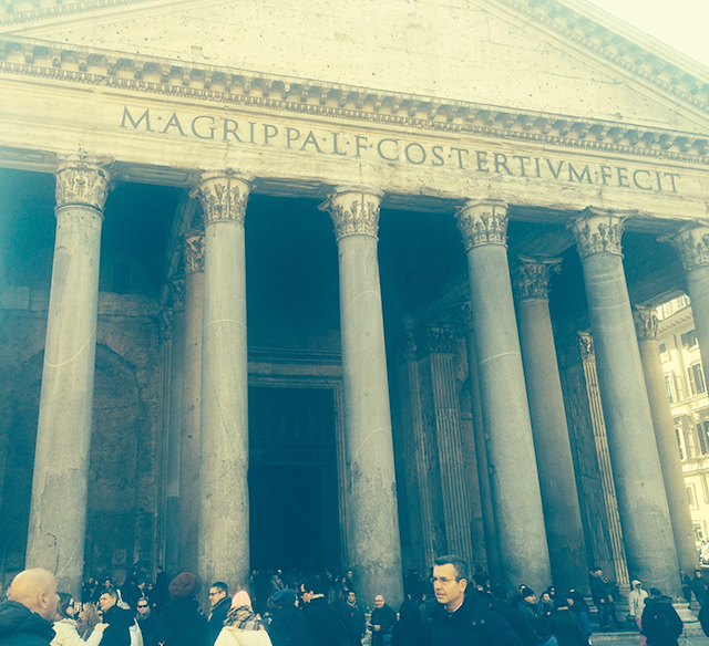 Pantheon in Rome, Italy