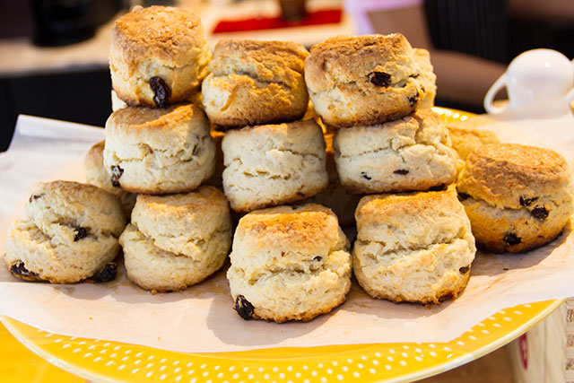 Scones make the perfect side for tea
