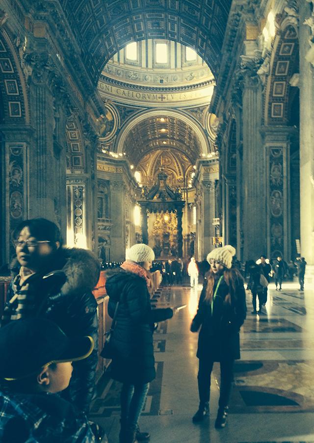 Sistine Chapel in Vatican City, Rome, Italy