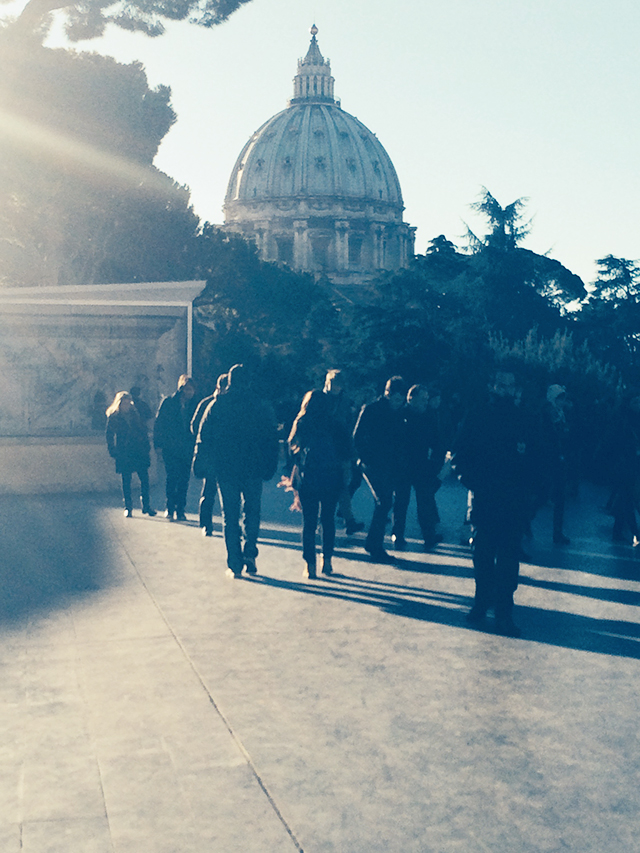 Exploring the Vatican in Rome, Italy