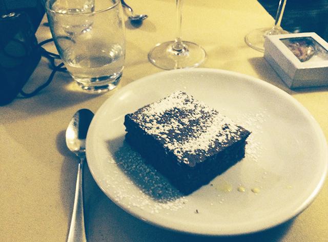 Dessert in Rome, Italy