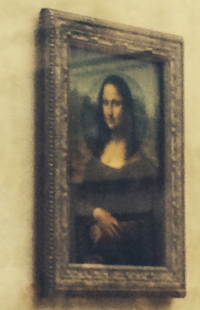 Mona Lisa at the Louvre in Paris, France