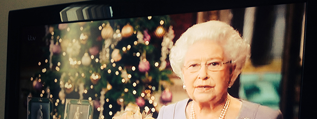 Queen's Christmas Day speech in London