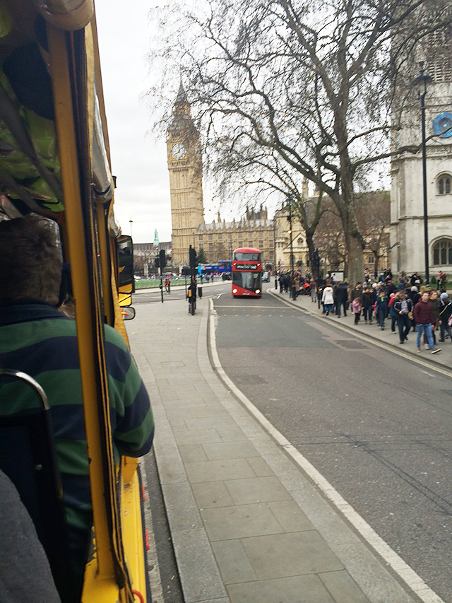 Duck tour in London, England