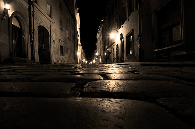Jack the Ripper streets of London, England