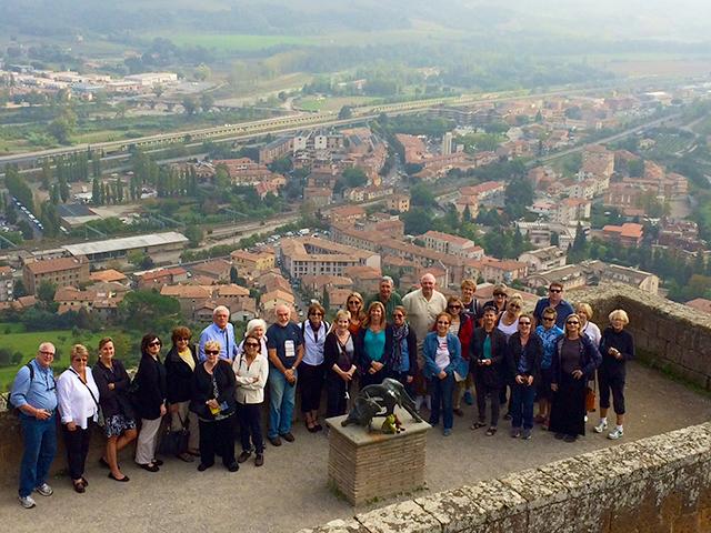 Group in Orvieto, Italy