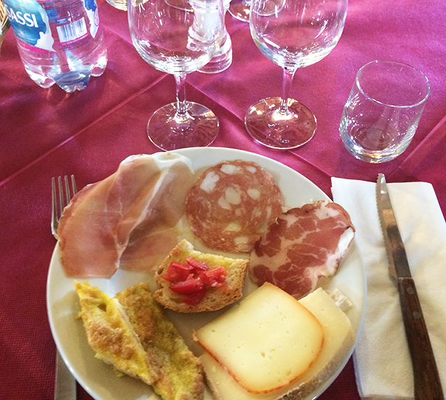 Lunch at Casato Prime Donne, Montalcino, Italy