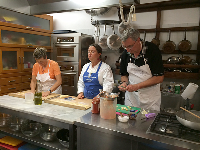 Cooking class in Florence, Italy