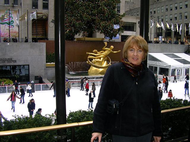 Verna in New York City