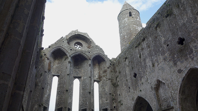 Cathedral and Rock of Cashel in County Cork, Ireland