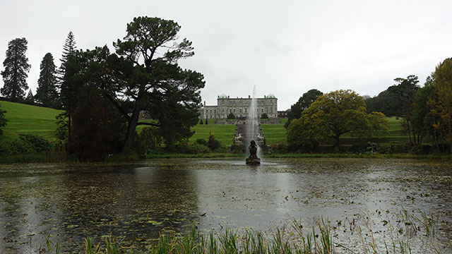 Powerscourt in Glendalough, County Wicklow Ireland.