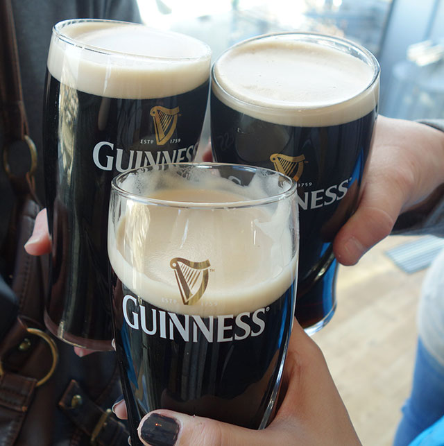 Guinness Factory in Dublin, Ireland