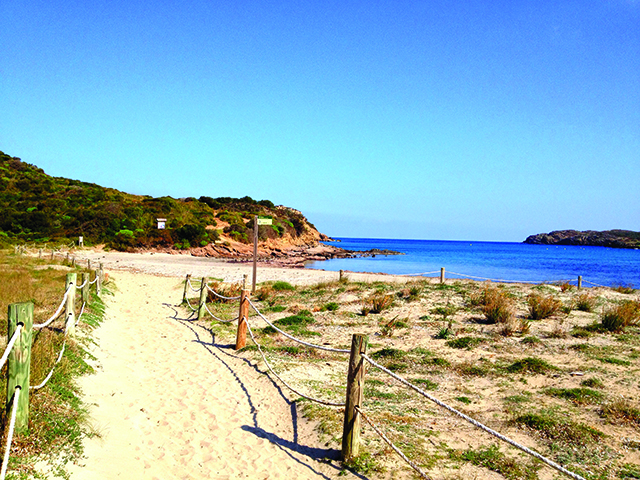 Menorca walk Spain