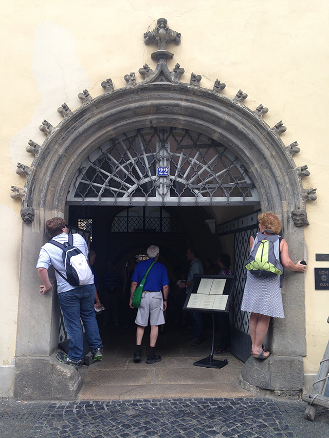 Whispering Arch in Gorlitz, Germany