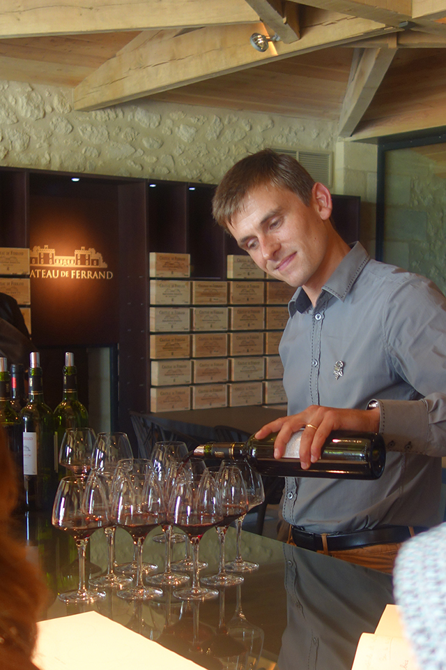 Wine tasting on the Grand Tour of France