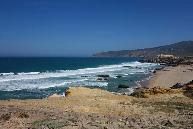 Prai do Guincho overlooking Portgual's coast