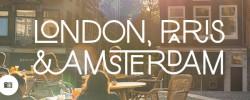 Jimmy in London, Paris & Amsterdam