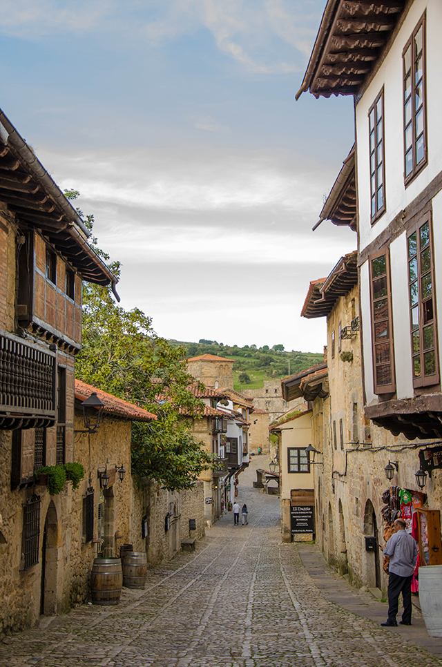 Cantabria's Santilla del Mar in northern Spain