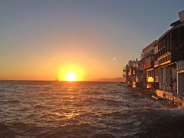 Sunset in Little Venice