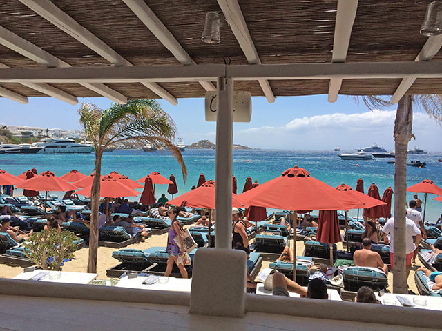 Psarou Beach Restaurant