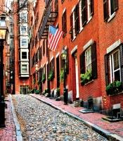 Historic Beacon Hill in Boston, MA