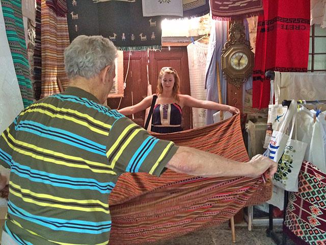 Blankets, Crete, Greece