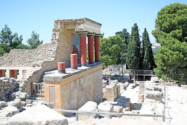 Knossos Ruins, Greece