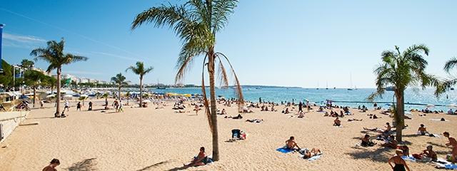 Barceloneta Beach, Barcelona Spain