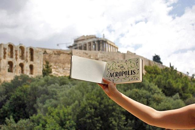Acropolis Sketch