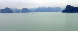Snapshot: Coffee on Halong Bay, Vietnam