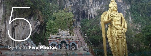 My Trip in 5 Photos: Batu Caves