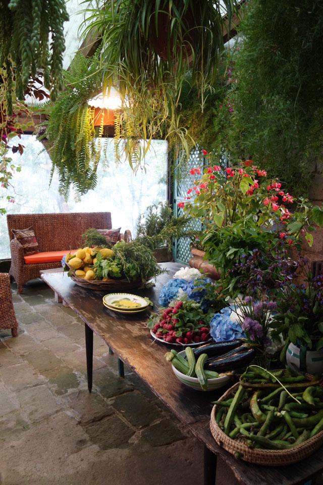 Amalfi Coast farm table