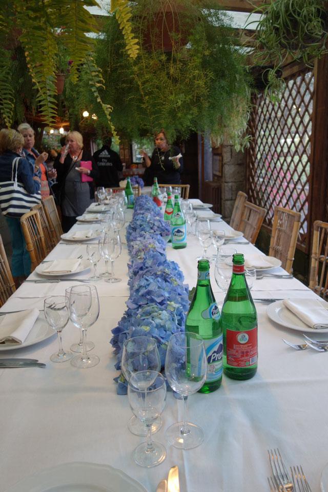 Amalfi Coast farmhouse dinner