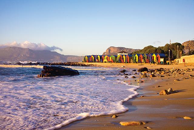 Cape Town St James Beach, South Africa