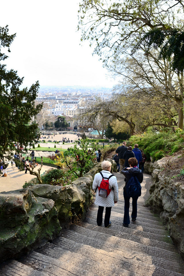 By the Sacre-Coeur