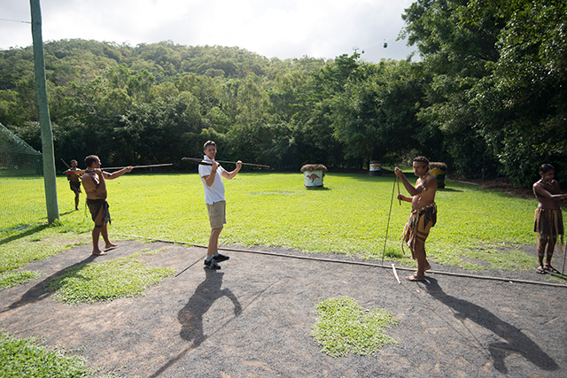 Australia Aboriginal traditions & Spear-throwing