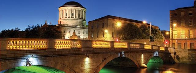 Dublin, Ireland on St. Patty's Day