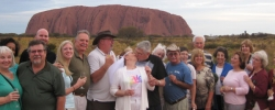 Traveler Story: Renewing vows at Ayer's Rock in Australia