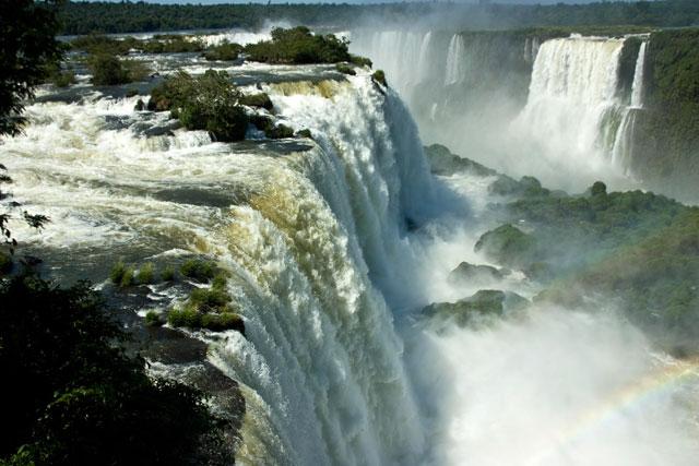 Iguassu Falls, Brazil, Argentina, South America